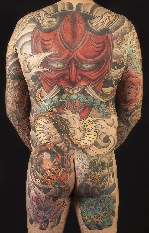 Japanese Tattoo I århus Japansk Tatovering I Aarhus