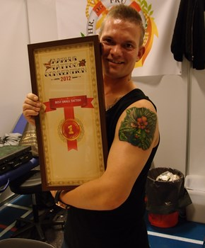 Aarthus Tatto Convention 1 plads